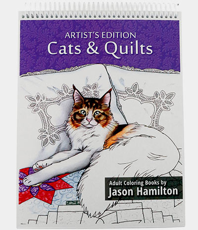 Cover of Cats & Quilts, Artist's Edition