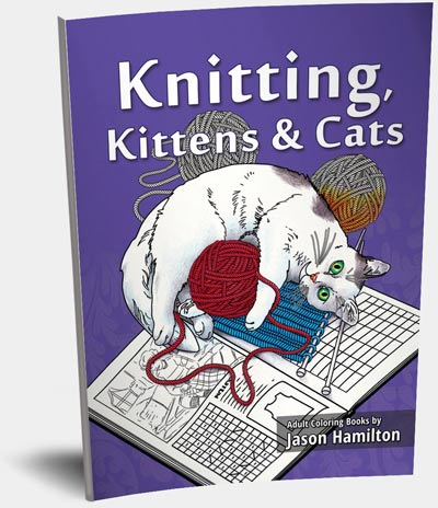 Limited Edition Knitting Kittens and Cats