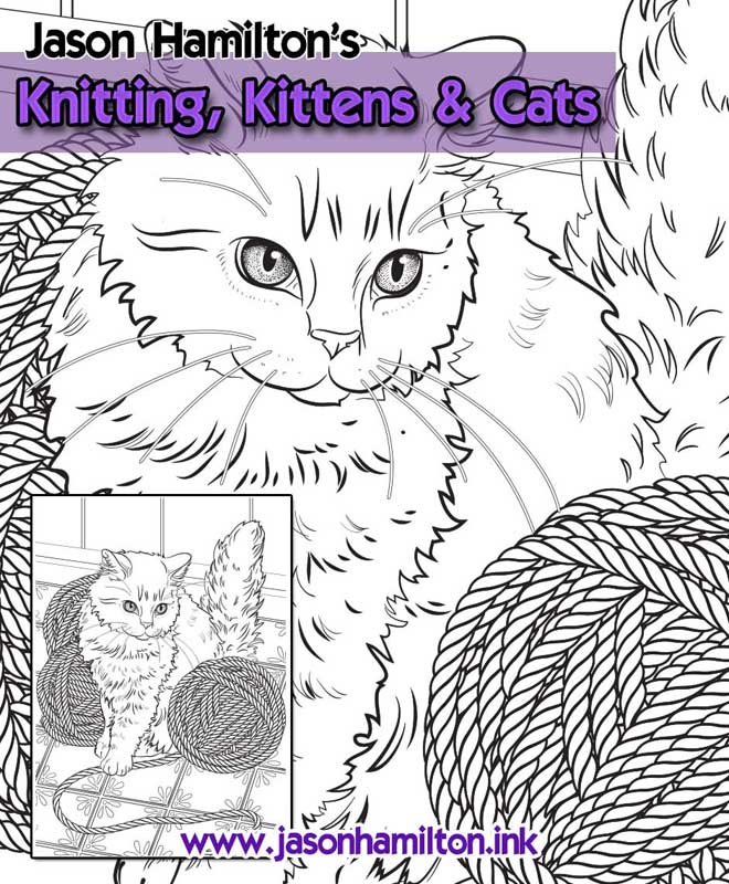 Knitting Kittens Cats Has Previously Been Available With A Limited Edition Cover Is No Longer For Sale