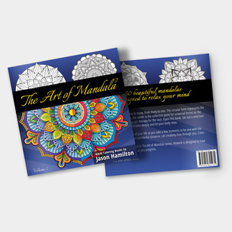 The Art of Mandala 2 Adult Coloring Book