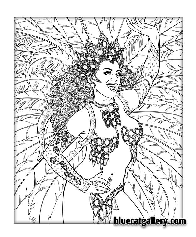 Beauty Women Coloring Pages